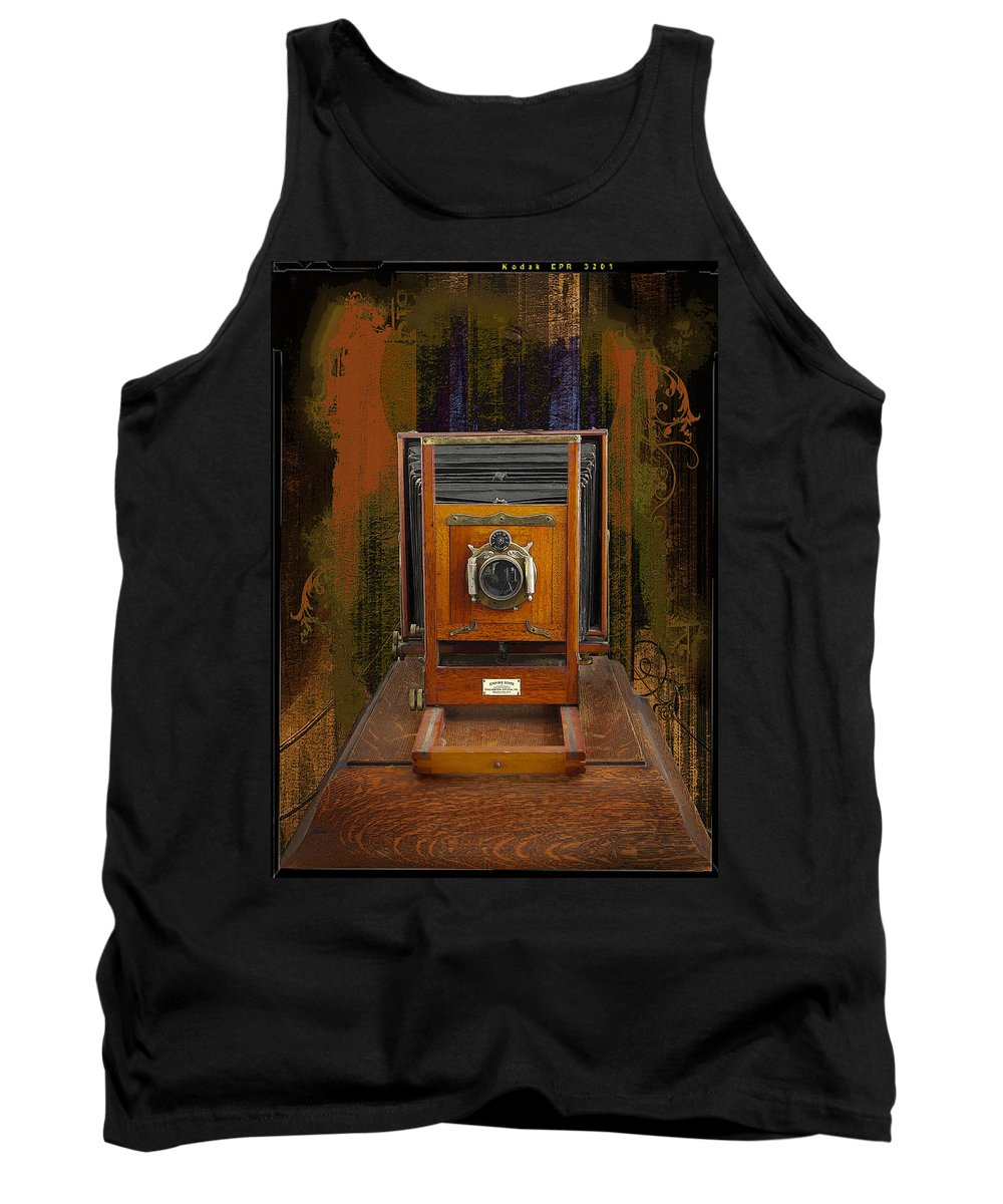 Cameras Tank Top featuring the photograph Studio View by John Anderson