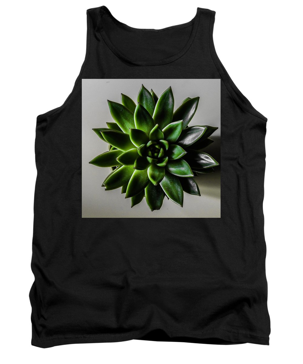 Succulent Tank Top featuring the photograph Succulent by Fae Scalmazzi