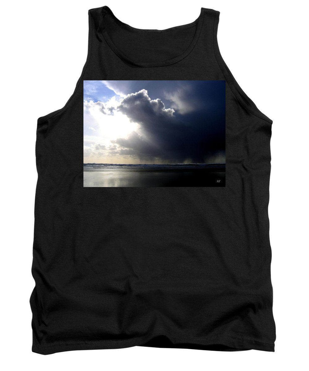 Squall Tank Top featuring the photograph Sudden Squall by Will Borden