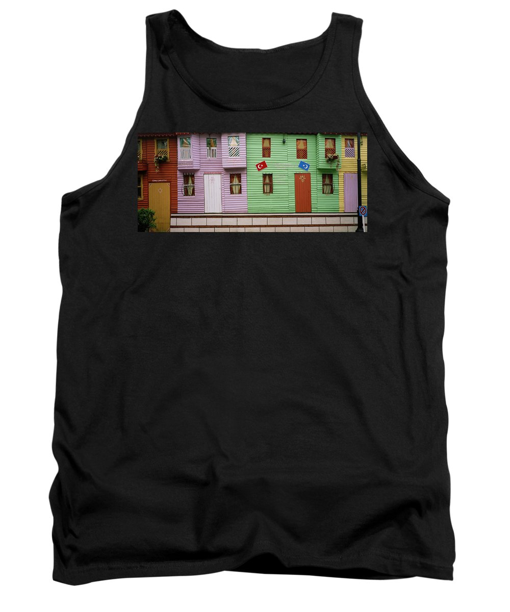 Istanbul Tank Top featuring the photograph Sultanhamet by Shaun Higson