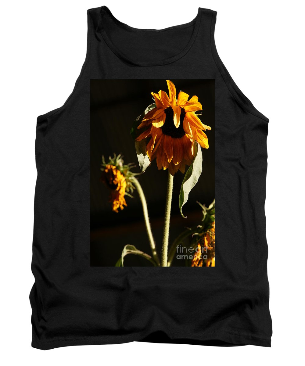 Summer Tank Top featuring the photograph Summer And The Beat Of Your Heart by Linda Shafer