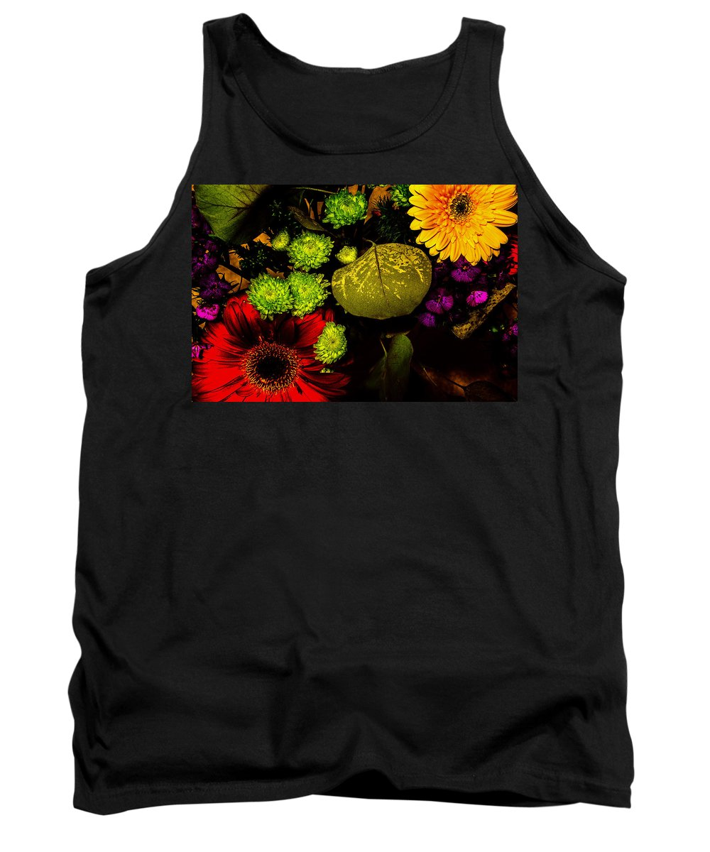 Flowers Tank Top featuring the photograph Summer Boquet by Robert Storost