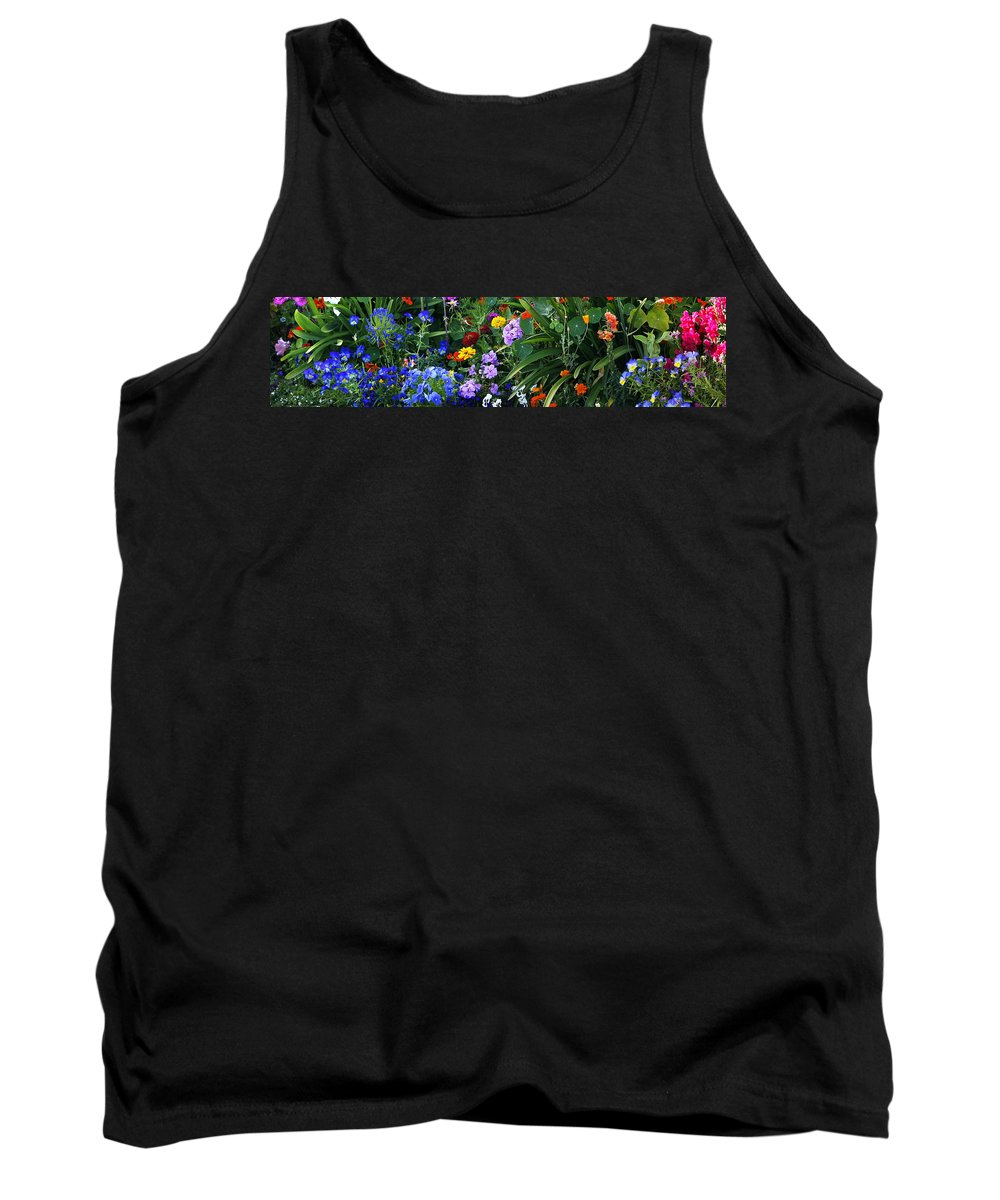 Summer Tank Top featuring the photograph Summer Garden 3 by Marilyn Hunt