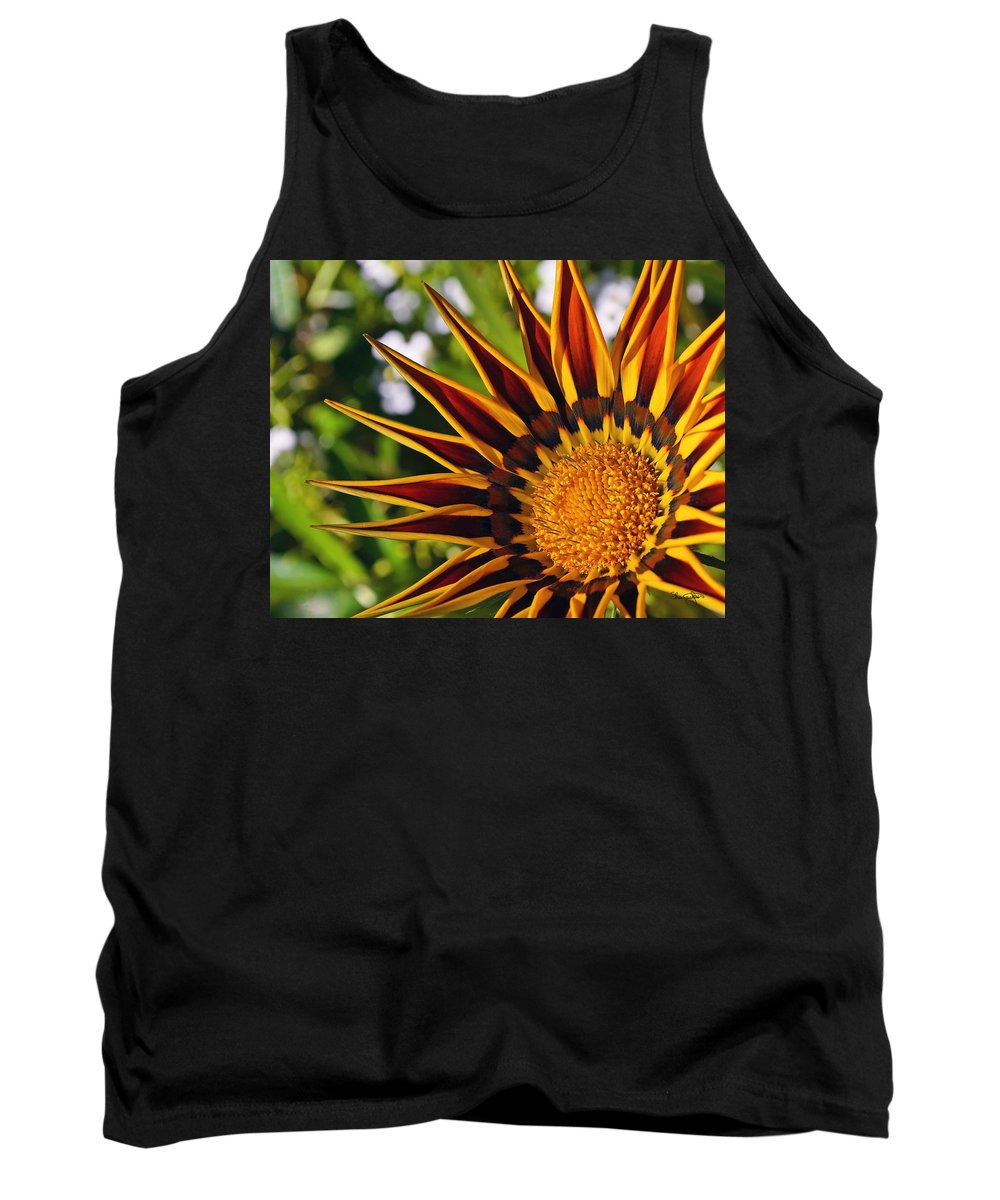 Summer Tank Top featuring the photograph Summer Garden by Shanna Hyatt