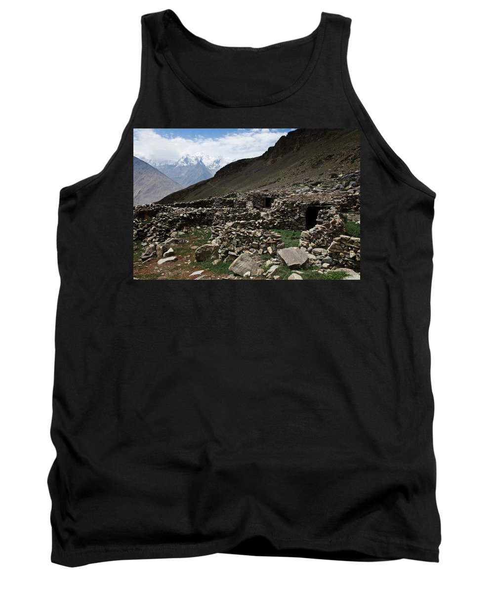 Backpacking Tank Top featuring the photograph Summer Hut by Konstantin Dikovsky