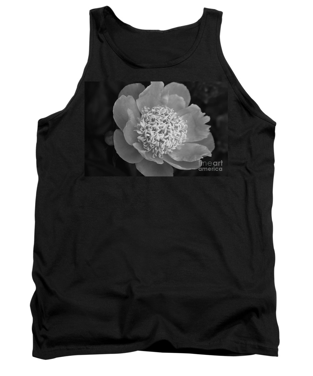 Peony Tank Top featuring the photograph Summer Peony by Kathy McClure