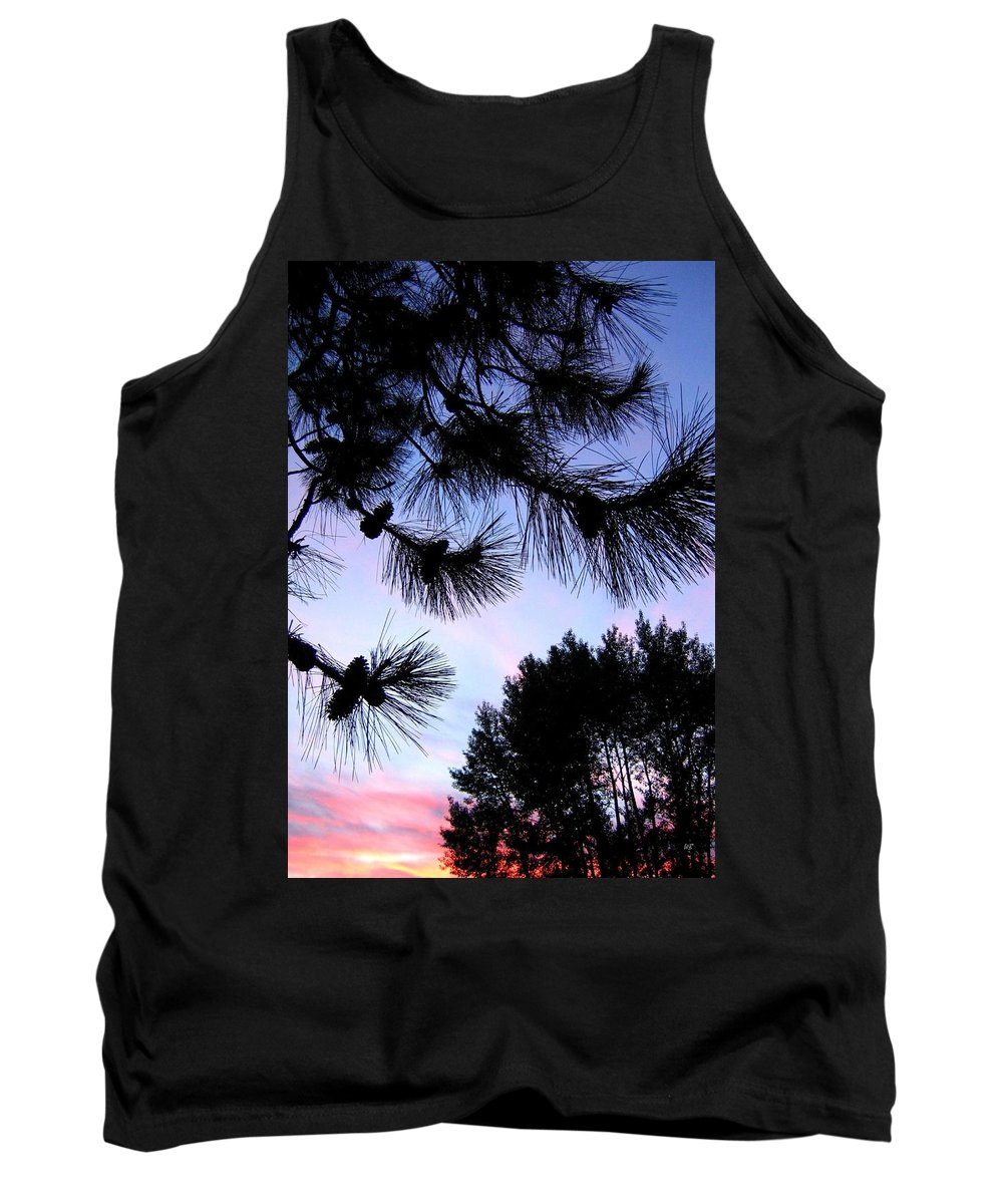 Silhouettes Tank Top featuring the photograph Summer Silhouettes by Will Borden
