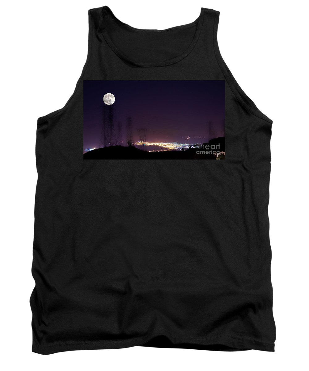 Clay Tank Top featuring the photograph Summer's Night In The Valley by Clayton Bruster