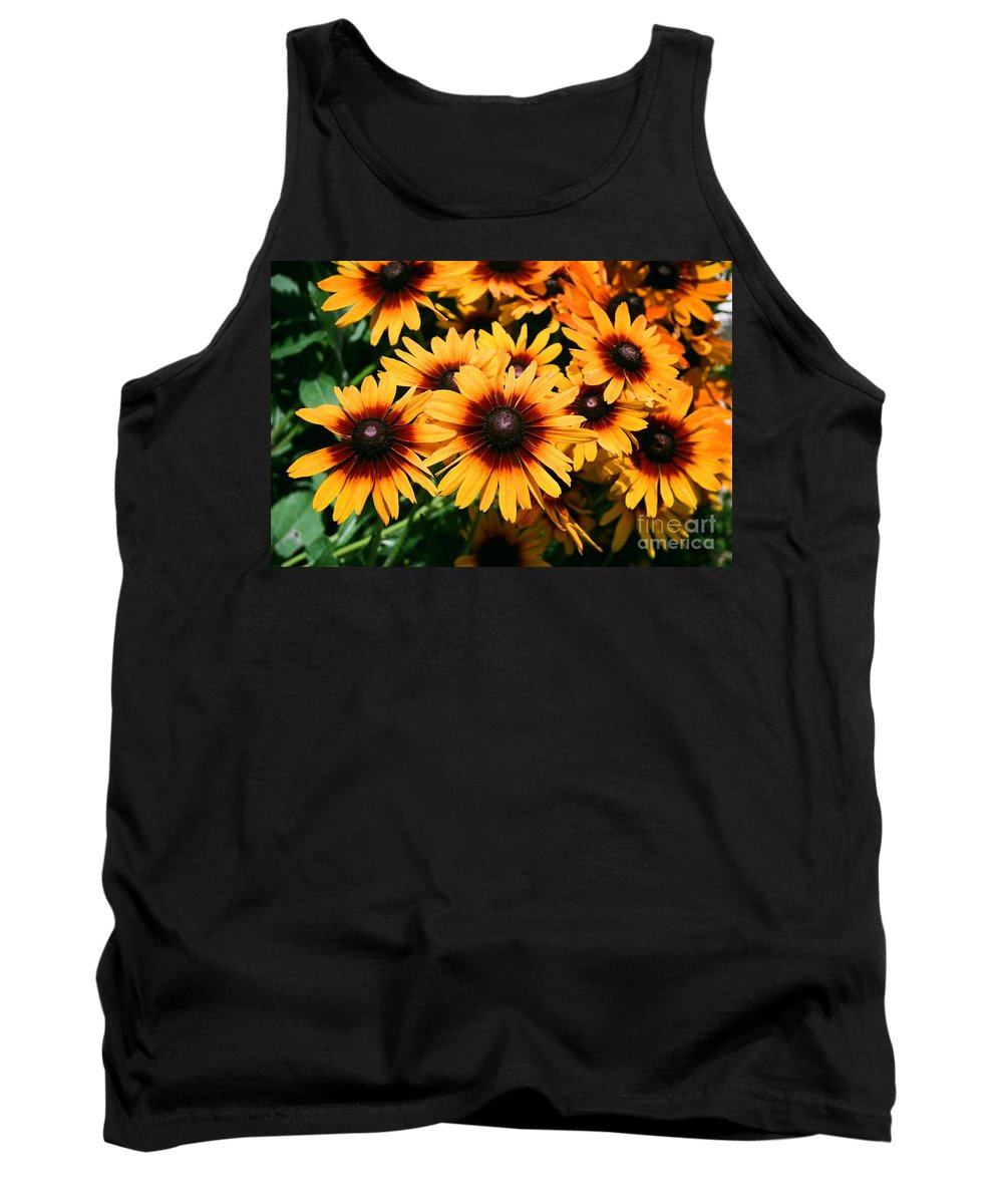 Sunflowers Tank Top featuring the photograph Sunflowers by Dean Triolo