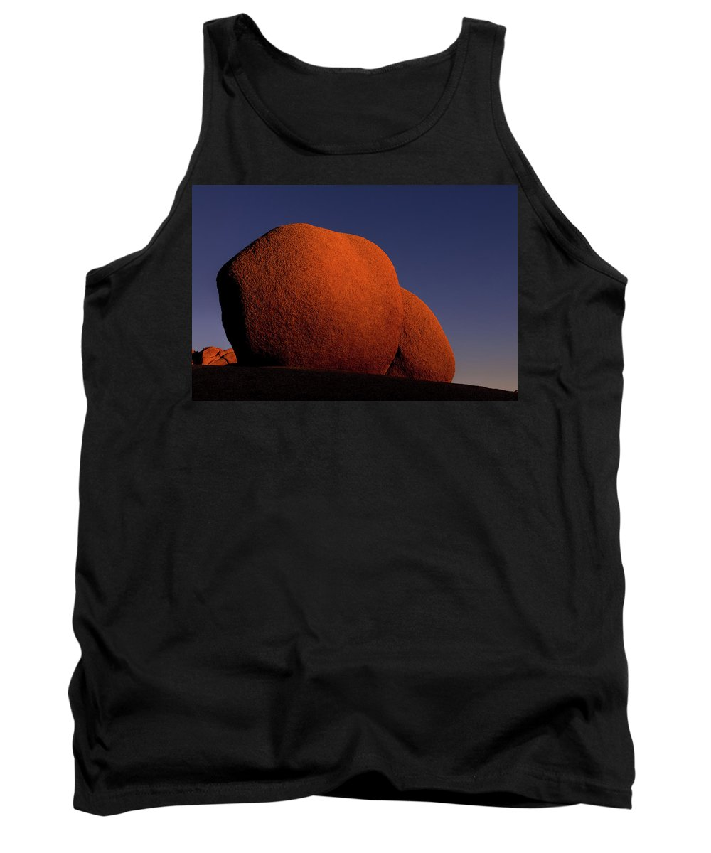 Joshua Tree National Park Tank Top featuring the photograph Sunkissed Revisited by TM Schultze