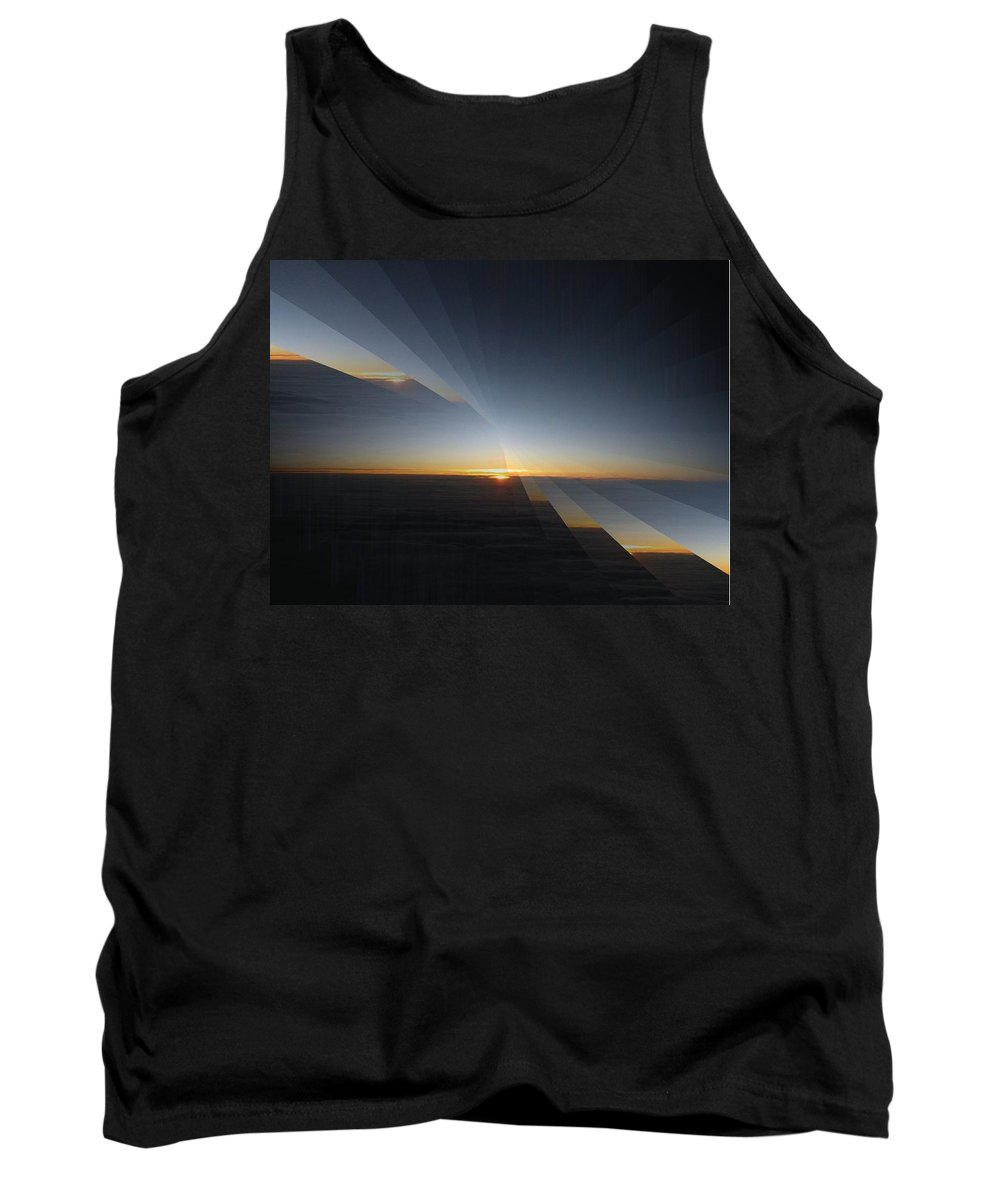 Sunrise Tank Top featuring the photograph Sunrise At 30k 4 by Tim Allen