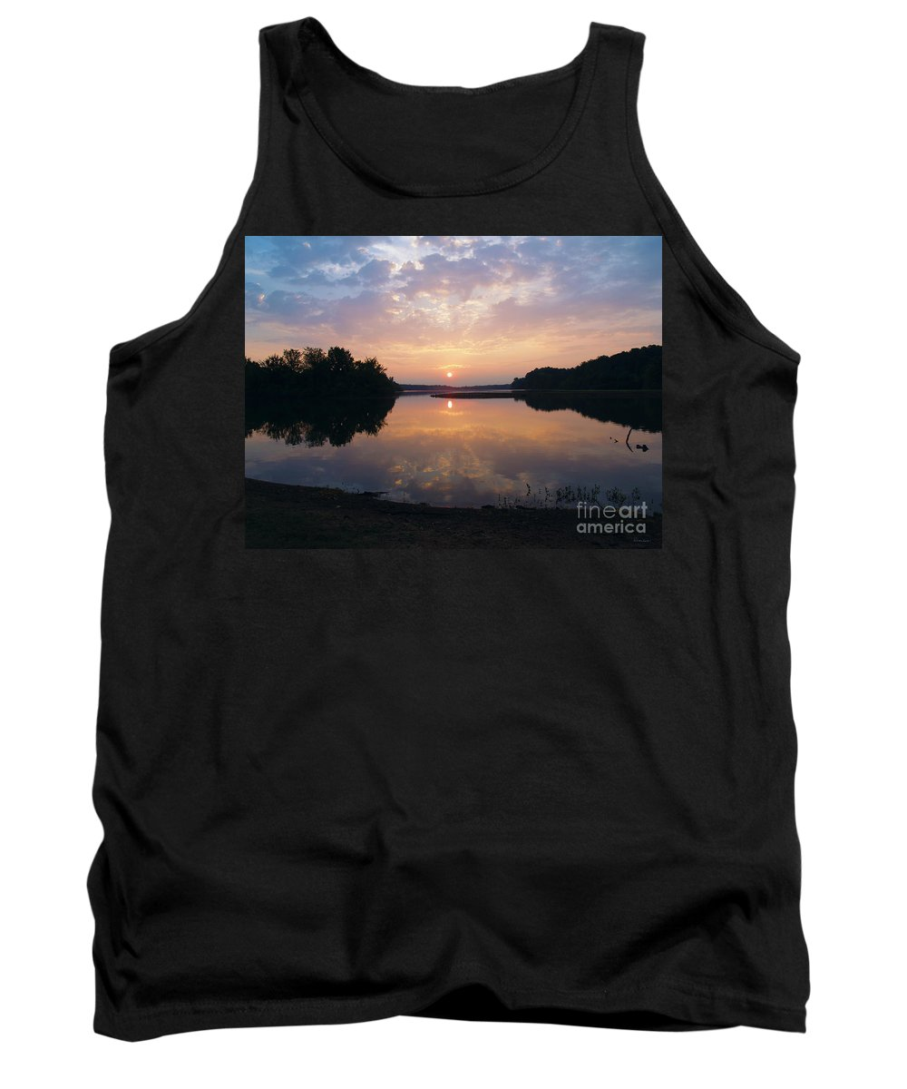 Sunrise Tank Top featuring the photograph Sunrise Morning Bliss 152b by Ricardos Creations