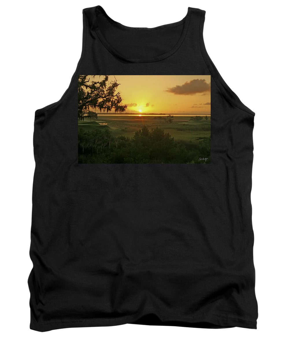 Sunrise Tank Top featuring the photograph Sun's Up by Phill Doherty