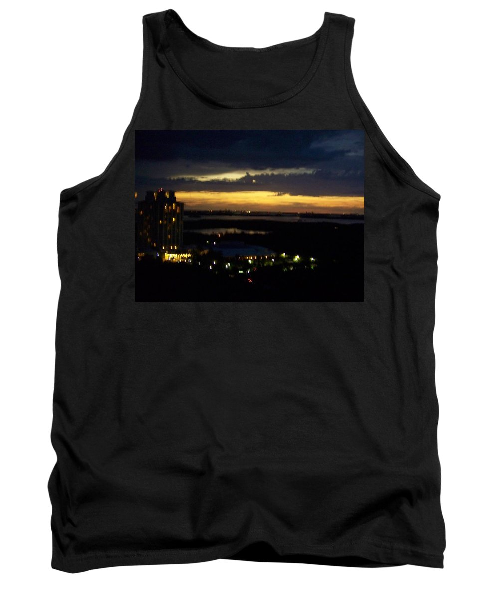 Sunset Tank Top featuring the photograph Sunset 0002 by Laurie Paci