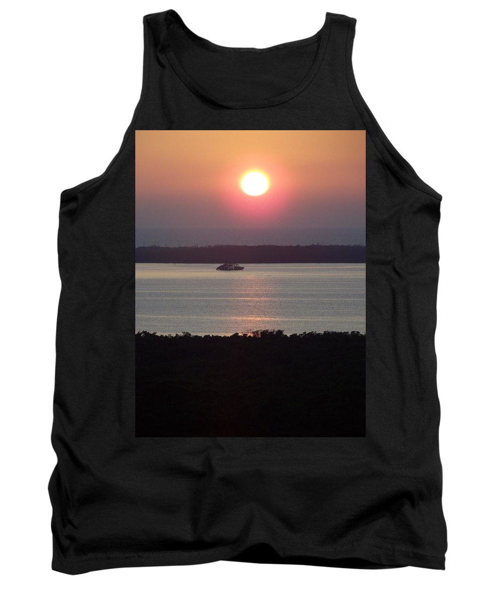 Sunset Tank Top featuring the photograph Sunset 0009 by Laurie Paci