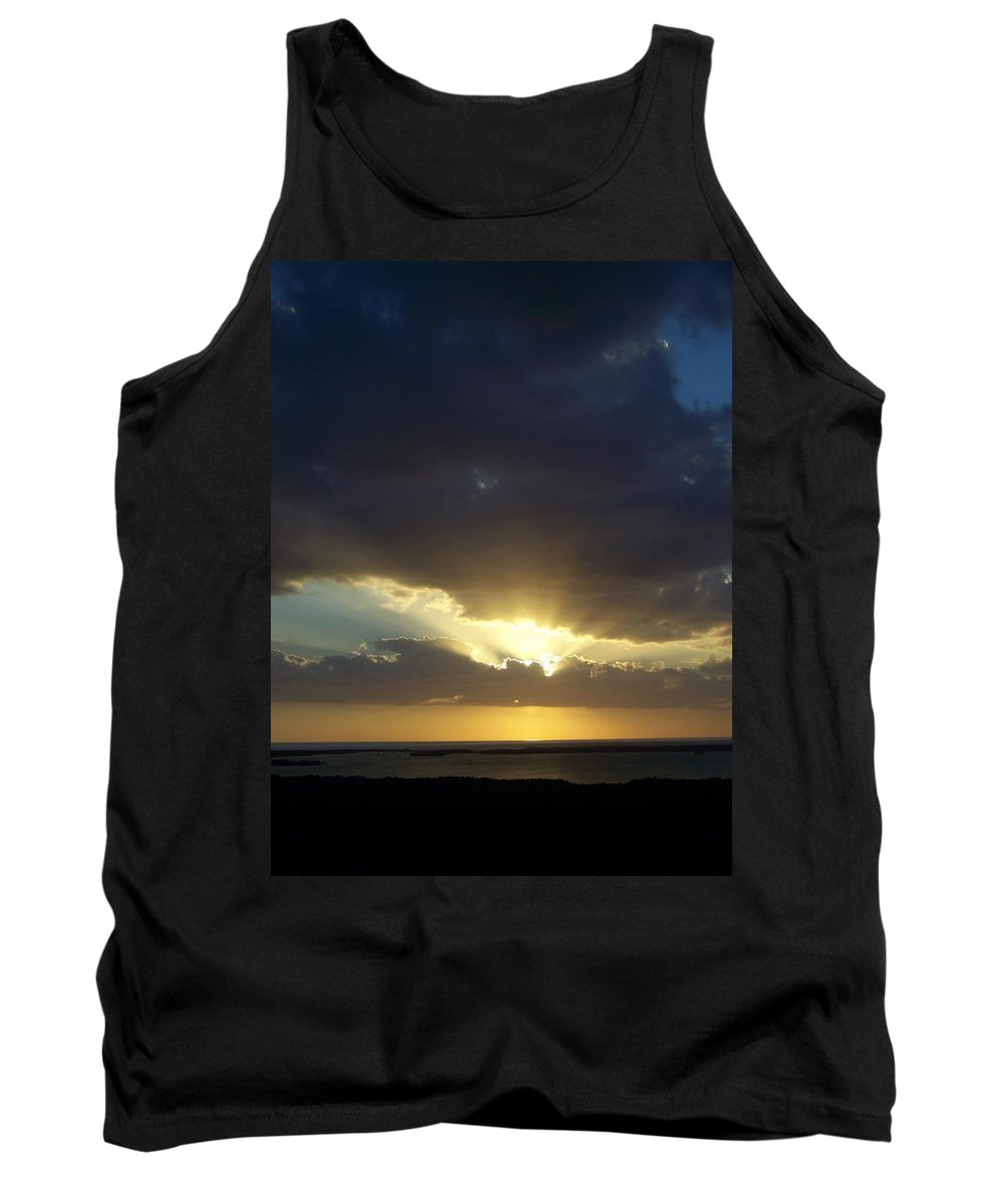 Sunset Tank Top featuring the photograph Sunset 0023 by Laurie Paci