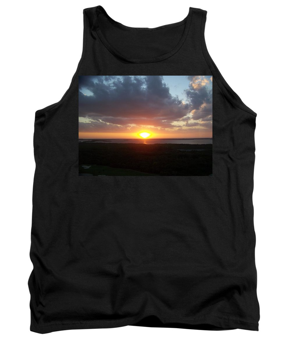 Sunset Tank Top featuring the photograph Sunset 0026 by Laurie Paci