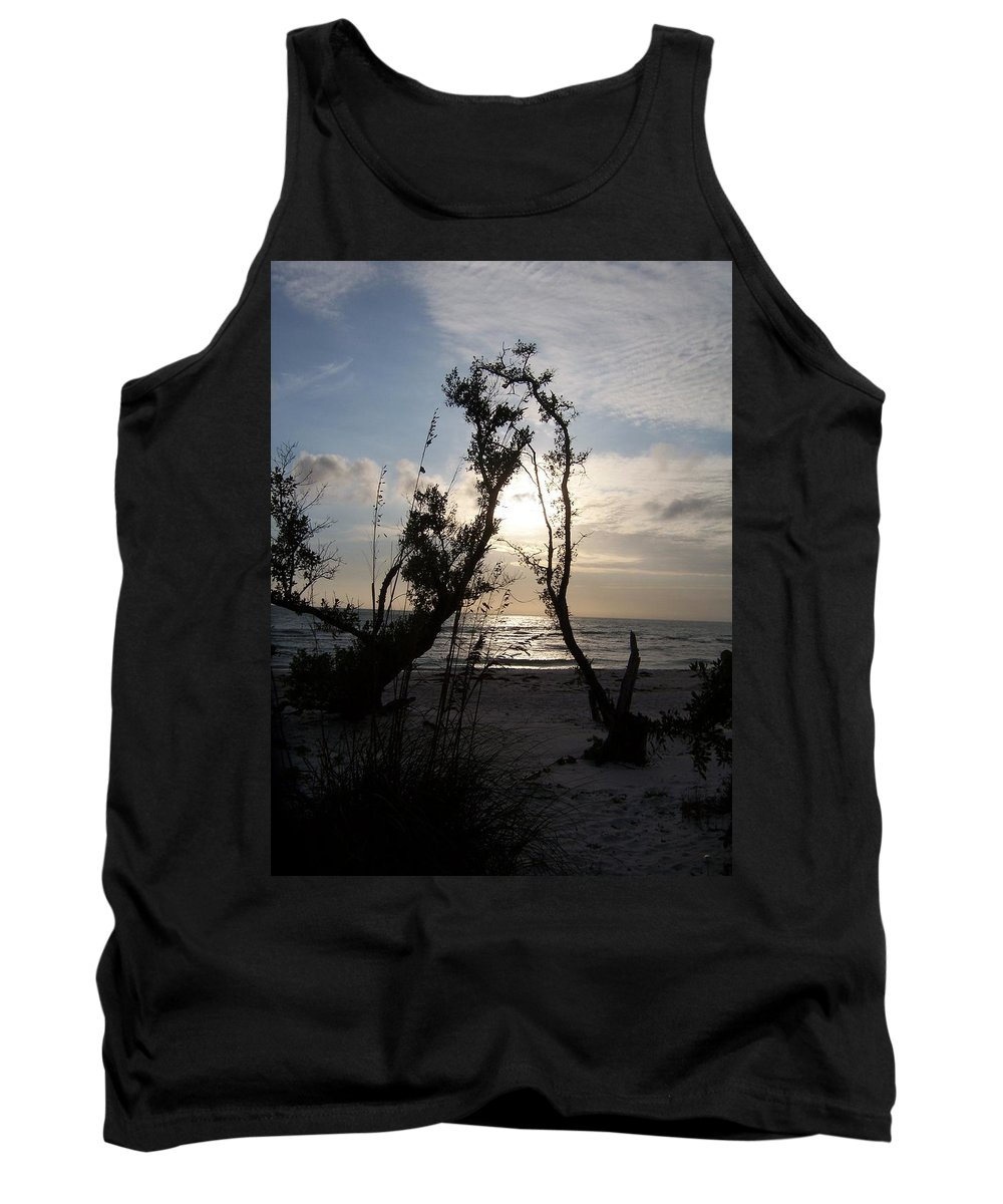 Sunset Tank Top featuring the photograph Sunset 0027 by Laurie Paci