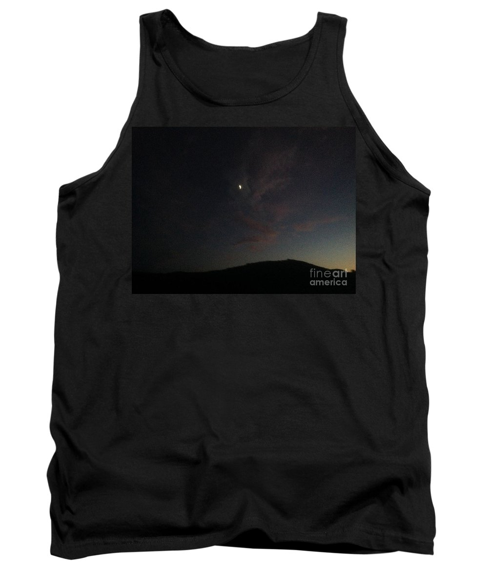 Sunsets Tank Top featuring the photograph Sunset At The Ranch by Maria Pancheri