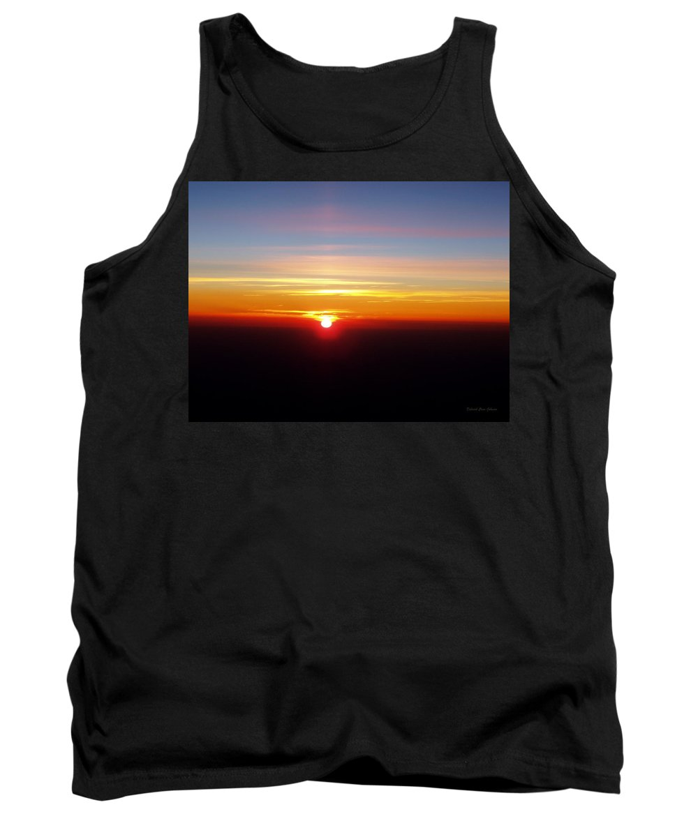 Pastel Tank Top featuring the photograph Sunset II by Deborah Crew-Johnson