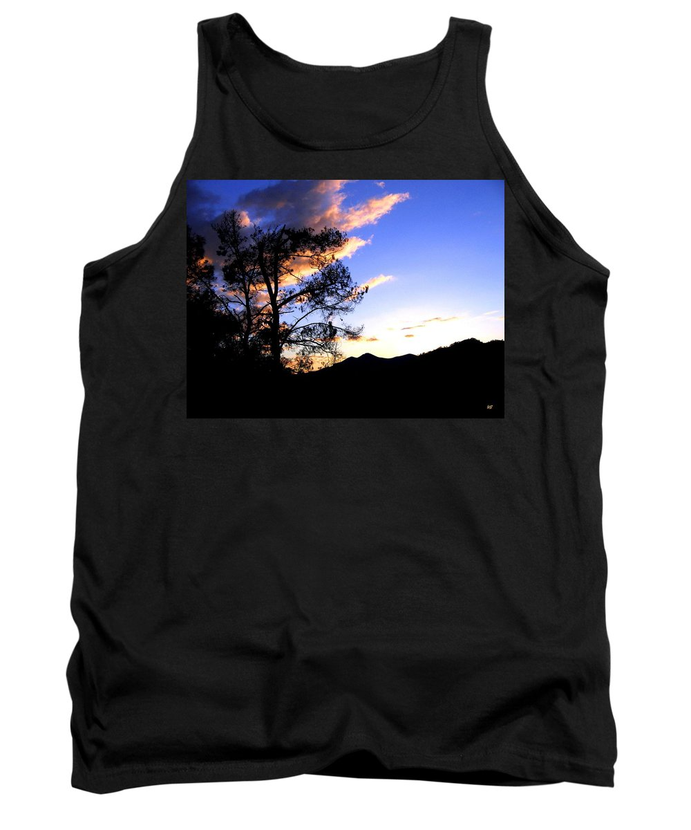 Sunset Tank Top featuring the photograph Sunset In The Highlands by Will Borden