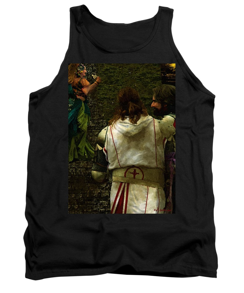 Building Tank Top featuring the painting Surely We Can Do Better Man by RC DeWinter