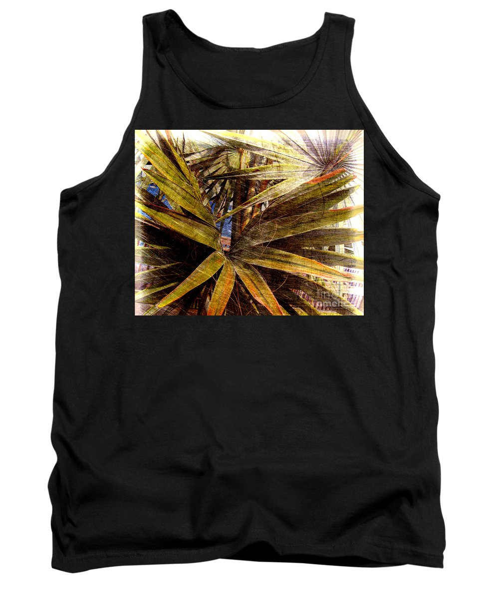 Palm Tree Tank Top featuring the photograph Surreal Dream by Susanne Van Hulst