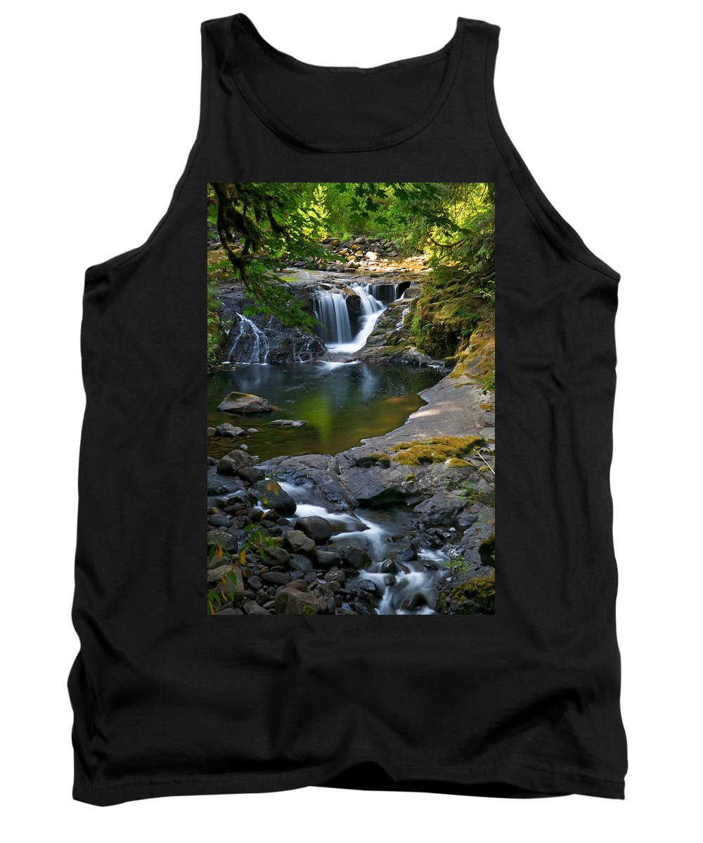 Creek Tank Top featuring the photograph Sweet Creek by Randall Ingalls