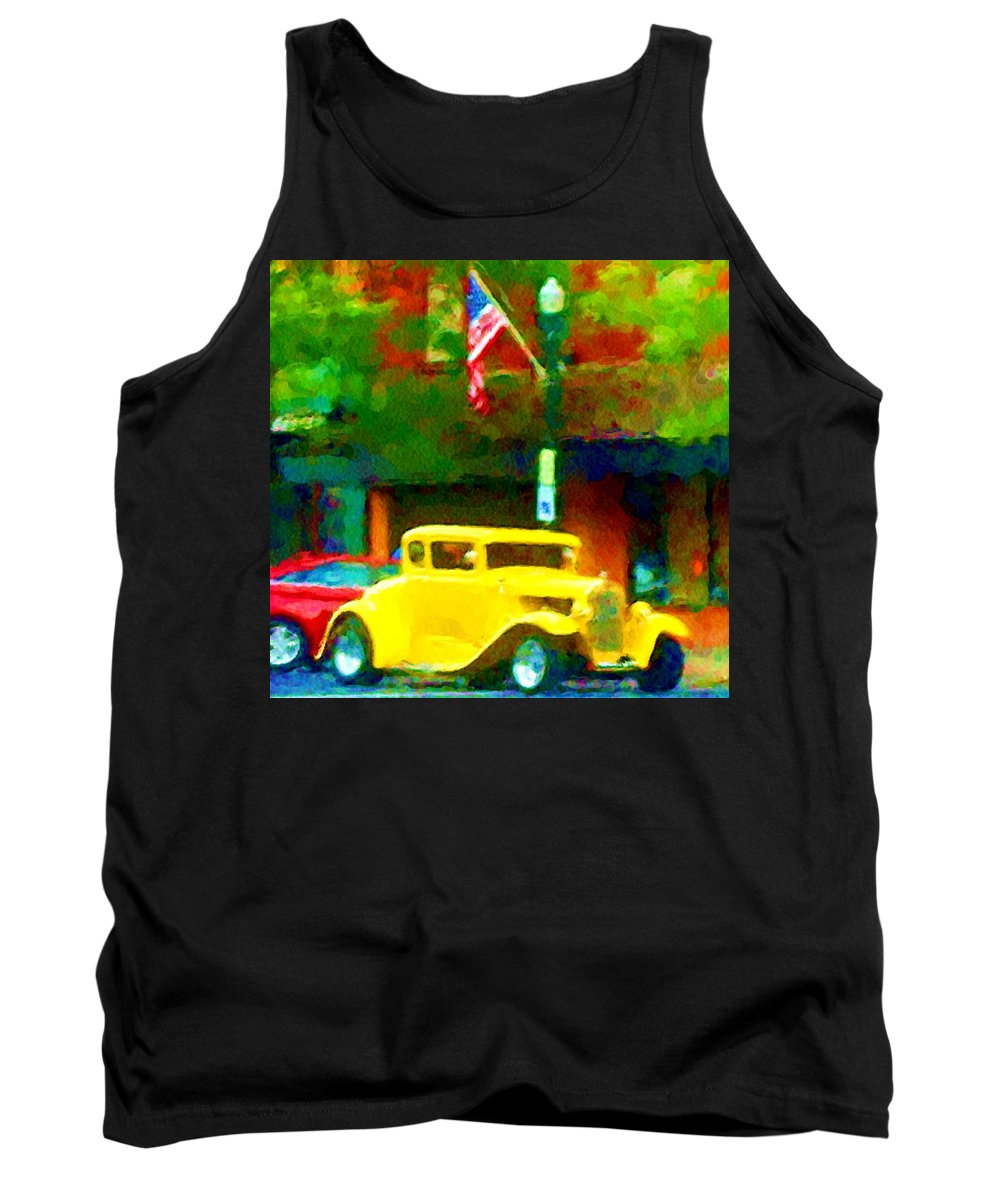 Hot Rod Tank Top featuring the photograph Sweet Ride by David Lane