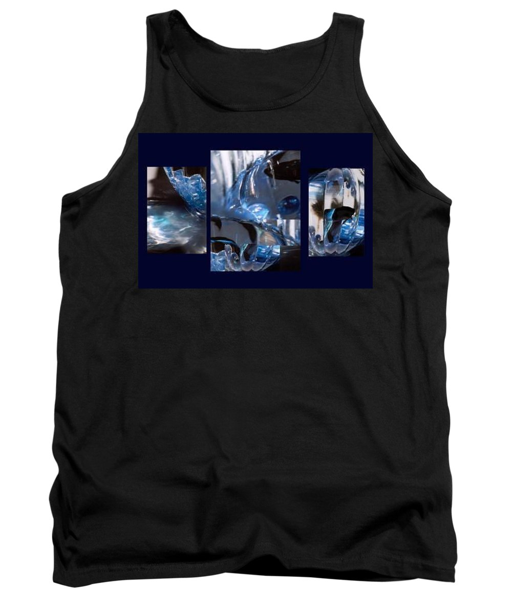 Abstract Of Betta In A Bowl Tank Top featuring the photograph Swirl by Steve Karol
