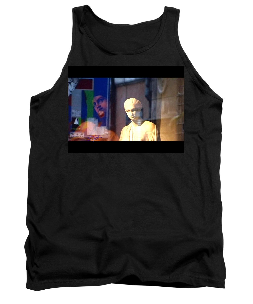Rome Tank Top featuring the photograph Tableau by Charles Stuart
