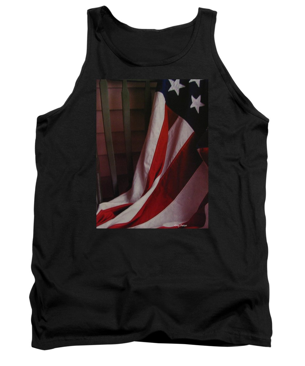 Art For The Wall...patzer Photography Tank Top featuring the photograph Taken A Rest by Greg Patzer