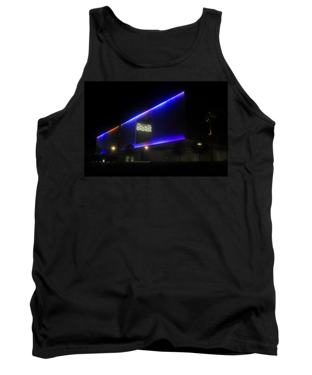 Tampa Museum Of Art Tank Top featuring the photograph Tampa Architecture by David Lee Thompson