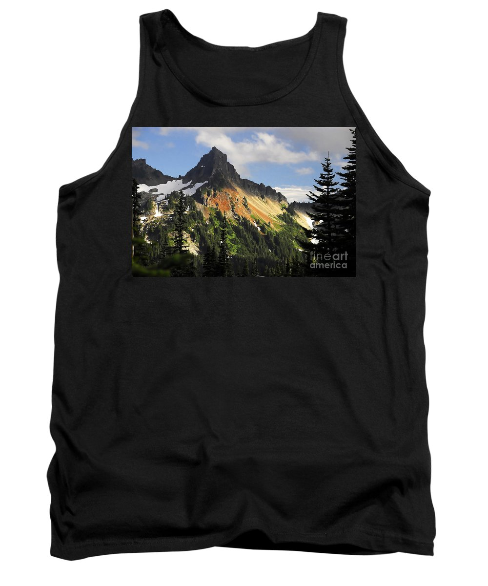 Mountains Tank Top featuring the photograph Tatosh Range by David Lee Thompson
