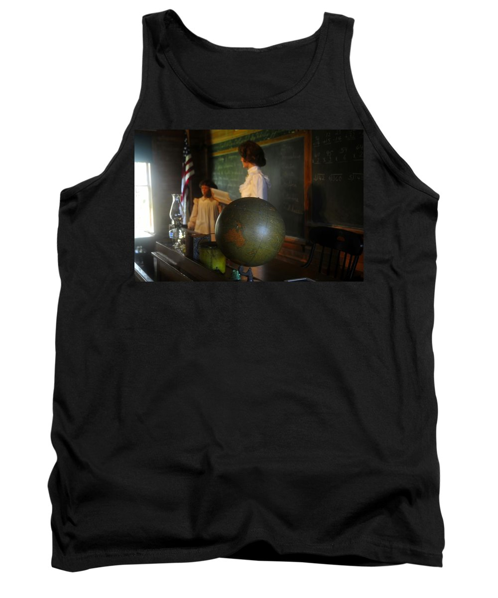 1800s Tank Top featuring the photograph Teaching Globe by David Lee Thompson