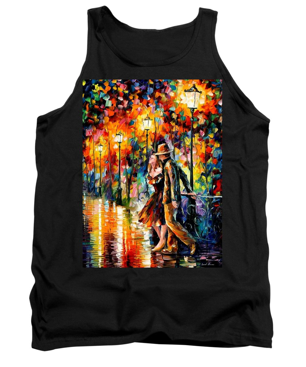 Scenery Tank Top featuring the painting Tempter by Leonid Afremov
