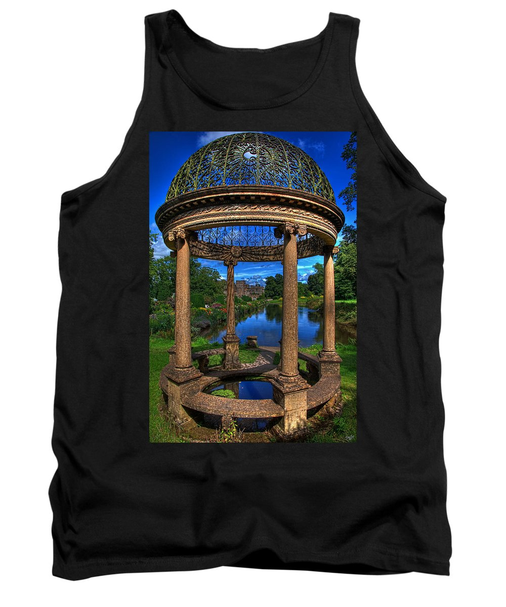 Hdr Tank Top featuring the photograph The Abbots Folly by Chris Lord