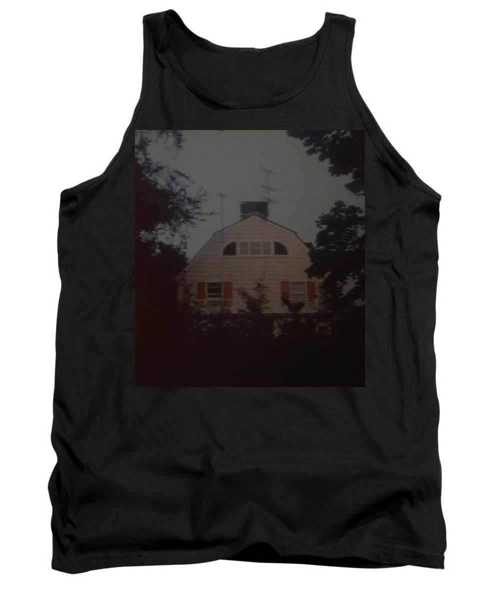 The Amityville Horror Tank Top featuring the photograph The Amityville Horror by Rob Hans