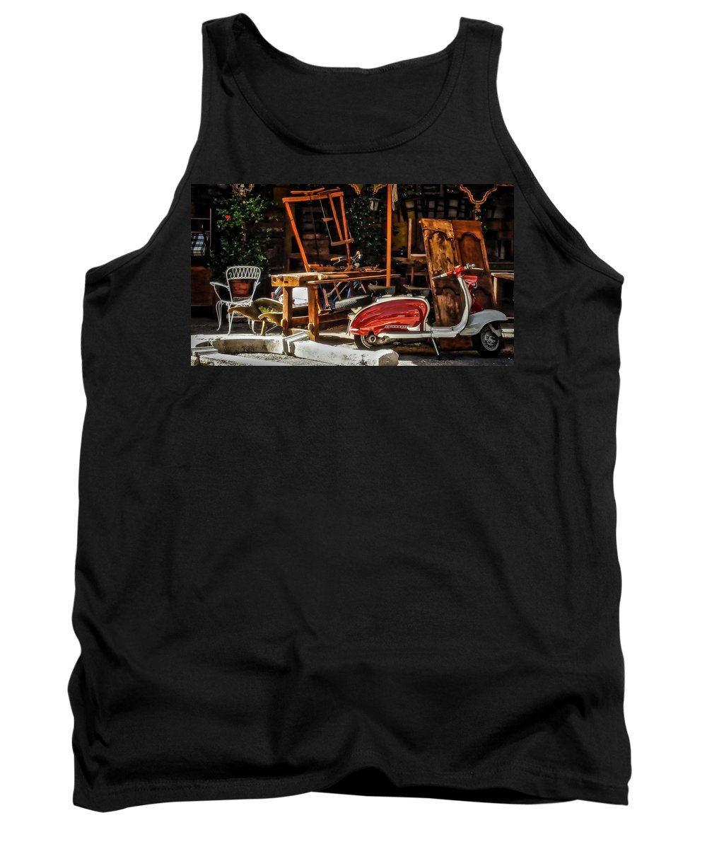 Antiquarian Tank Top featuring the photograph The Antiquarian by Alessandro Della Pietra