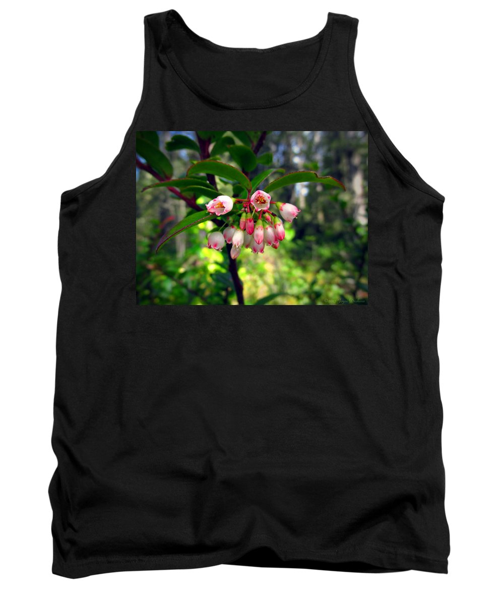 Floral Tank Top featuring the photograph The Beauty Of Spring by Joyce Dickens