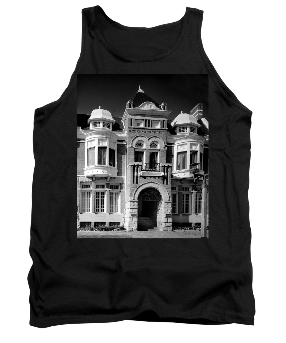 Photography Tank Top featuring the photograph The Century Club by Frederic A Reinecke