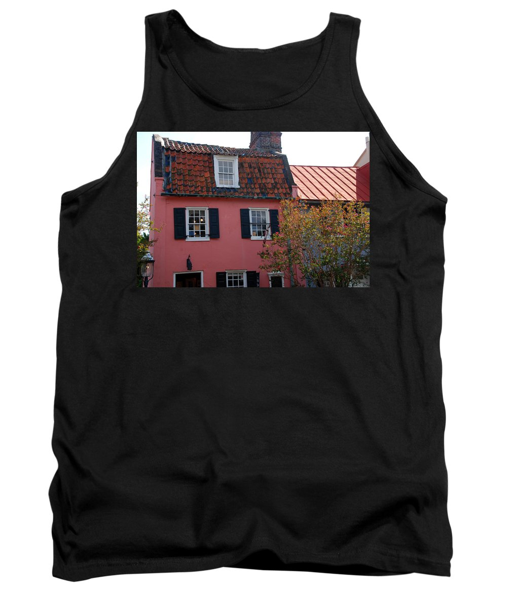 House Tank Top featuring the photograph The Charm Of Charleston Sc by Susanne Van Hulst