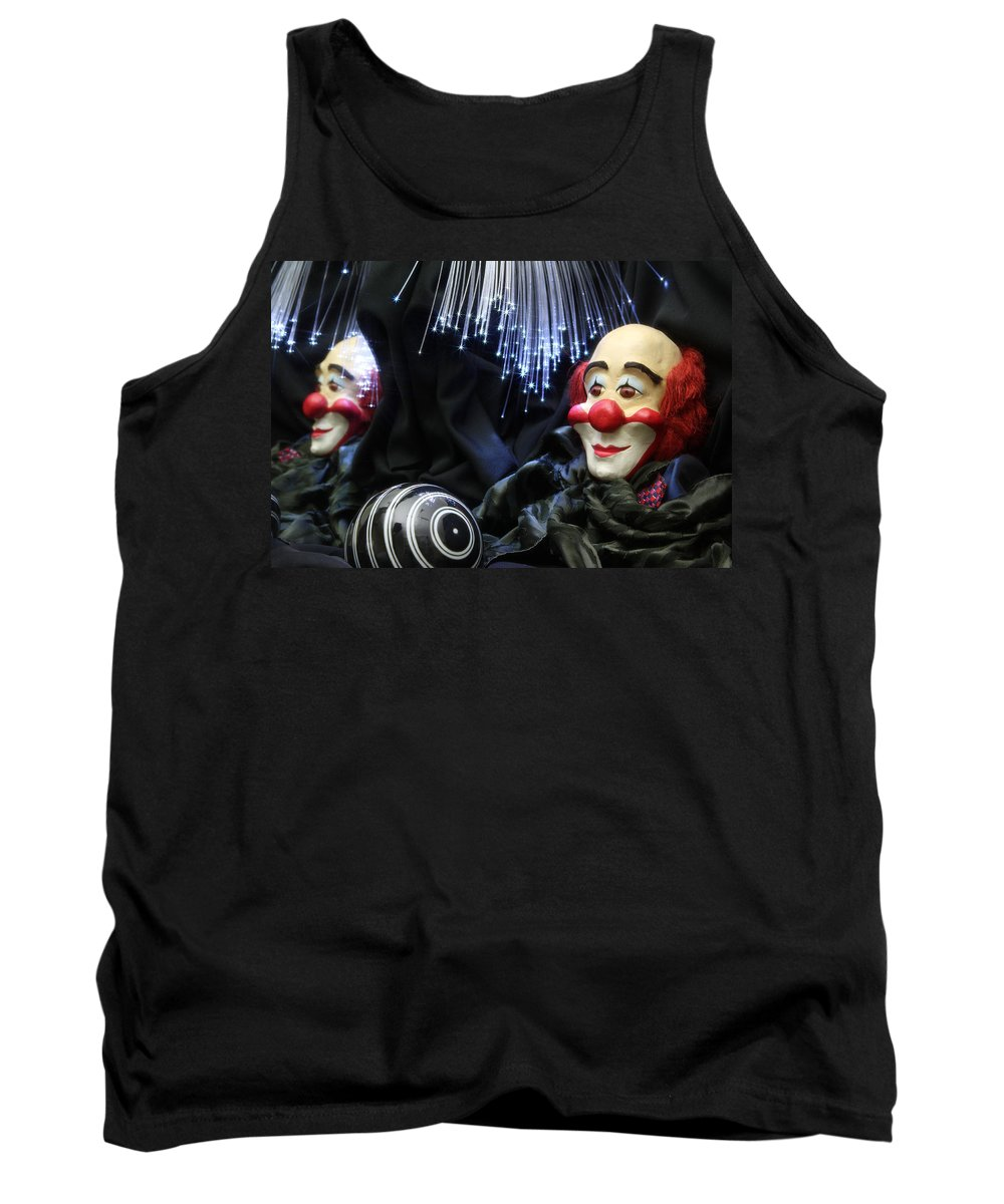 Clown Tank Top featuring the photograph The Clown by Manfred Lutzius