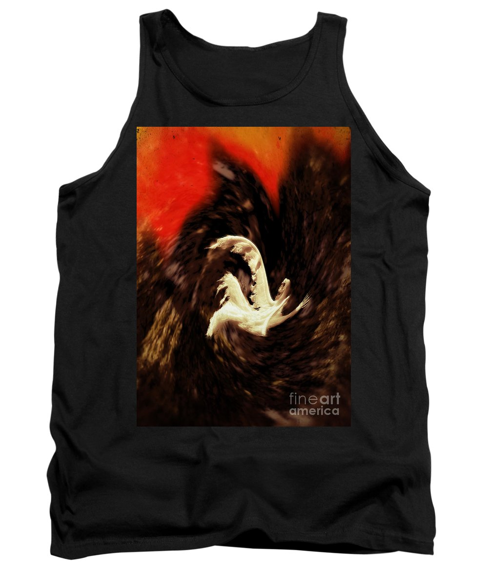 Hellenistic Tank Top featuring the photograph The Descent by John Greim