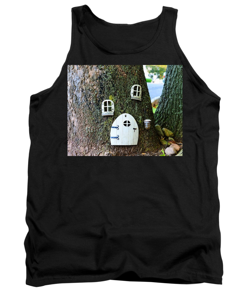 Elf Tank Top featuring the photograph The Elf House by Paul Ward