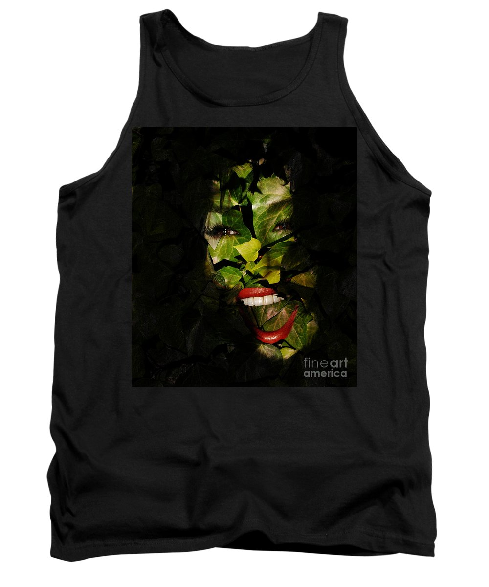 Clay Tank Top featuring the photograph The Eyes Of Ivy by Clayton Bruster