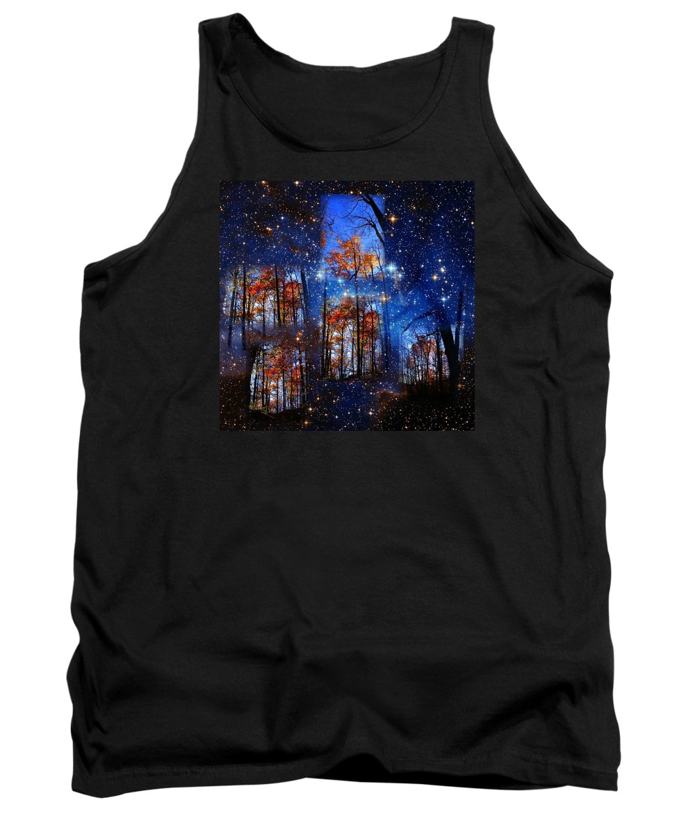 Deep Space Tank Top featuring the photograph The Face Of Forever by Dave Martsolf