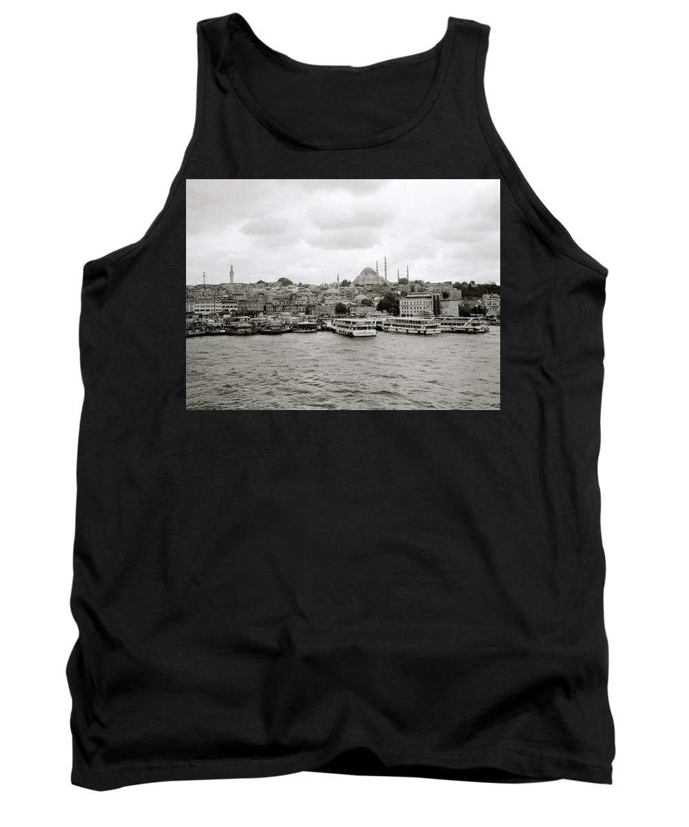 Istanbul Tank Top featuring the photograph The Golden Horn by Shaun Higson