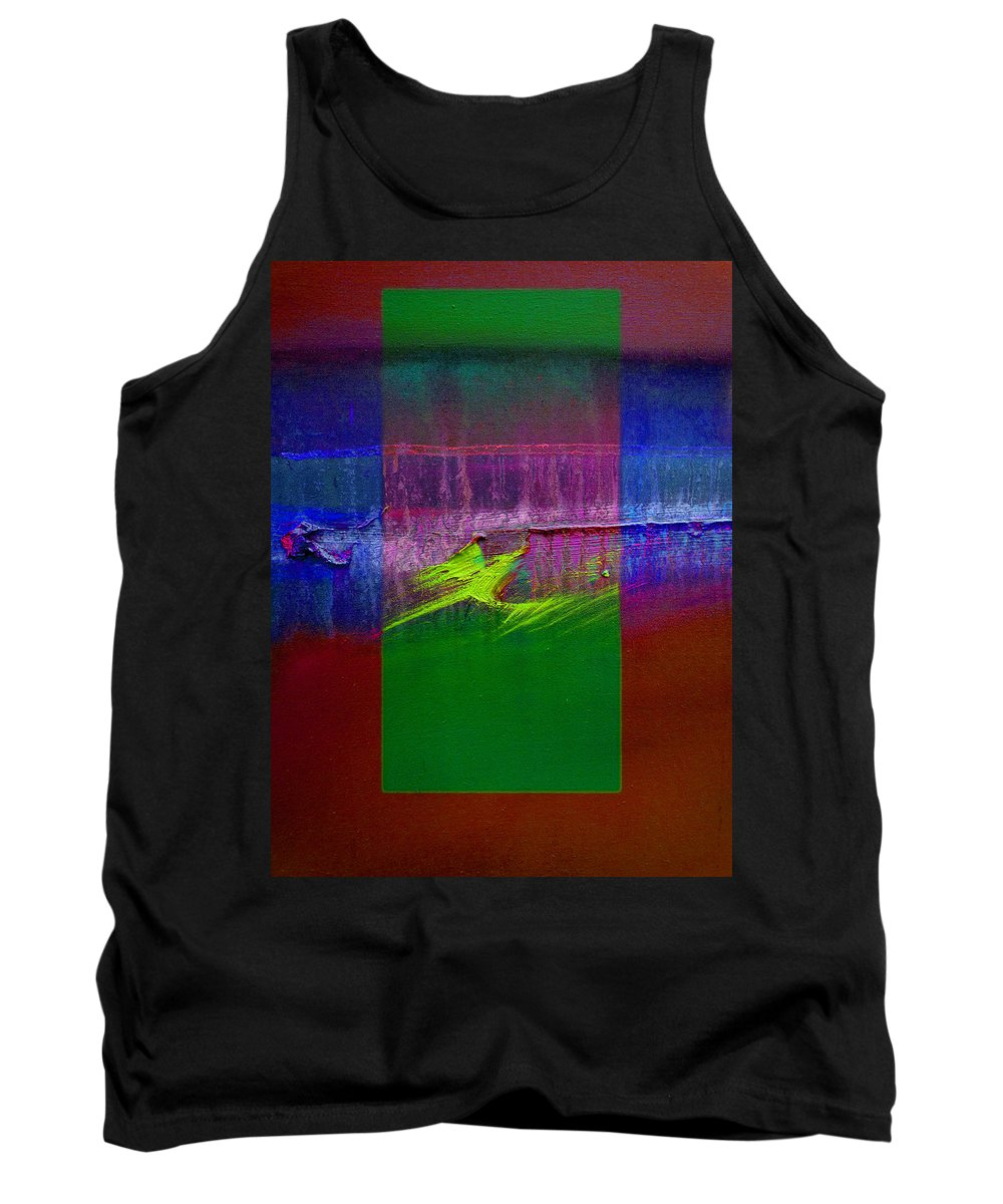 Landscape Tank Top featuring the painting The Green Dragon by Charles Stuart