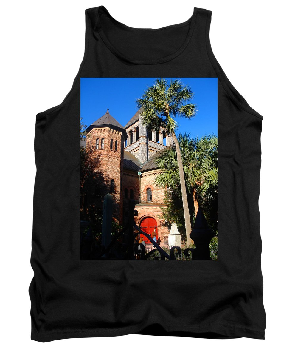 Photography Tank Top featuring the photograph The Holy City by Susanne Van Hulst